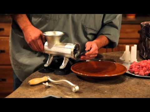 realtree outfitters™ manual meat grinderweston� - youtube