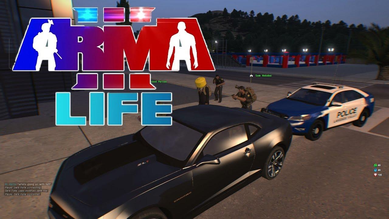 Arma 3 Life Police Role Play Youtube