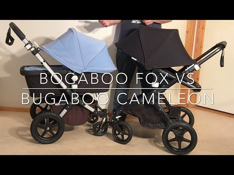Bugaboo Fox VS Bugaboo Cameleon 3: Mechanics, Comfort, Use