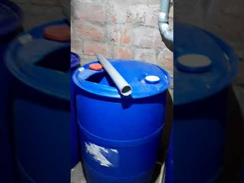 Туалет с канализацией в обычном гараже