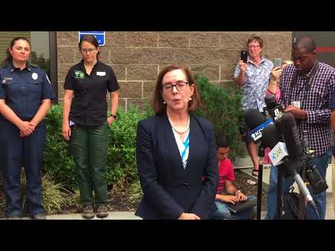 Governor: Oregon doing all it can to fight wildfires
