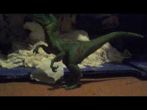Review 54: Schleich Green Veloicraptor 2014