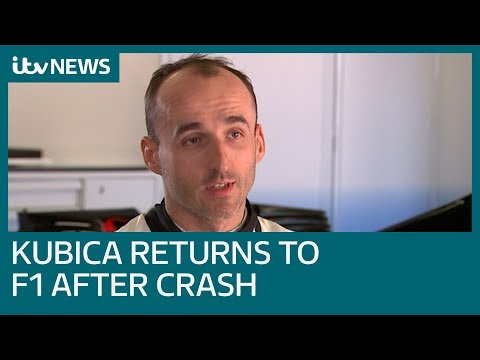 Robert Kubica to return to F1 hot seat following life-changing crash | ITV News