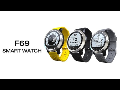 F69 Smart Watch IP68 Waterproof Pedometer Sedentary Reminder Heart Rate Sleep Monitor