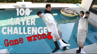 100 Layers of Plastic Wrap GONE WRONG! thumbnail