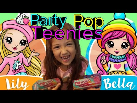 NEW PARTY POP TEENIES SURPRISE TOYS UNBOXING