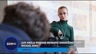 Lady Amelia Windsor Mendapat Endorsement dari Michael Kors
