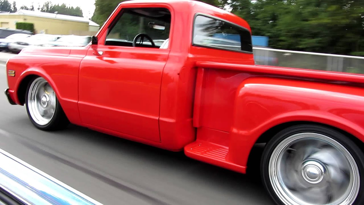 1972 Chevy Shorty Pick Up Truck With Chopped Cab And