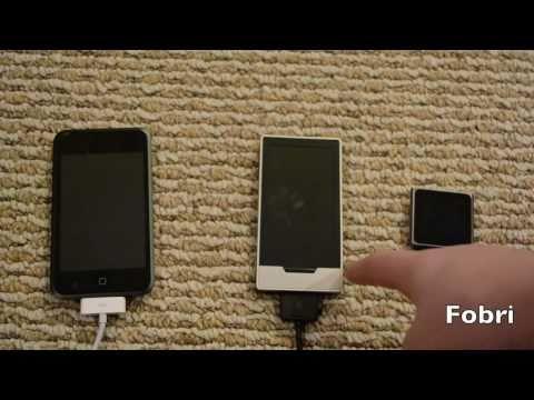 Fobri-Touch Screen Music Player Comparison
