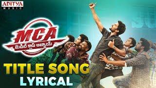 Telugutimes.net MCA Title Song Lyrical
