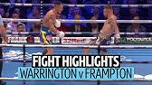 What a fight! Josh Warrington v Carl Frampton official highlights