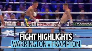 What a fight! Josh Warrington v Carl Frampton official highlights