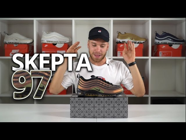 ba17cd0d65e6 Skepta Air Max 97 Review   Meeting ASAP Rocky - Banging Nike