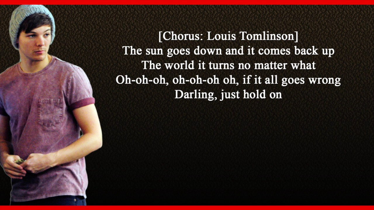 Louis Tomlinson Just Hold On Mp3 Download 320kbps
