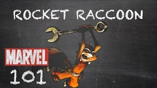 Fighting Ball of Fur and Fangs - Rocket Raccoon – Marvel 101
