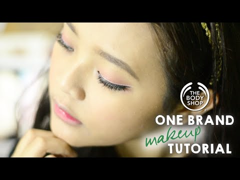 The Body Shop One Brand Makeup Tutorial Untuk Bukber | Ririeprams