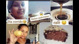 VLOG ROTINA - BOLO DE CHOCOLATE COM AMENDOIM, CAFÉ,  FAZENDO ENTREGAS,2 DIAS COMIGO !
