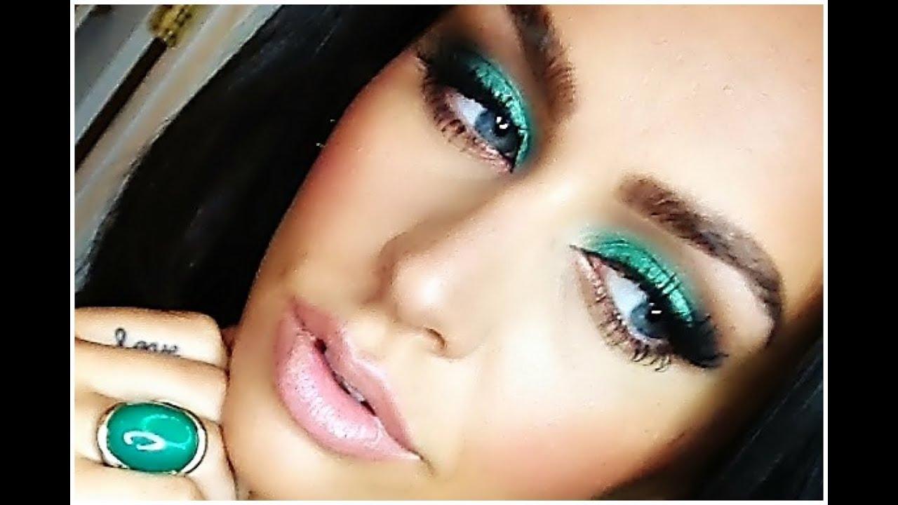 Emerald Smokey Eye Tutorial Carlibel55 Youtube
