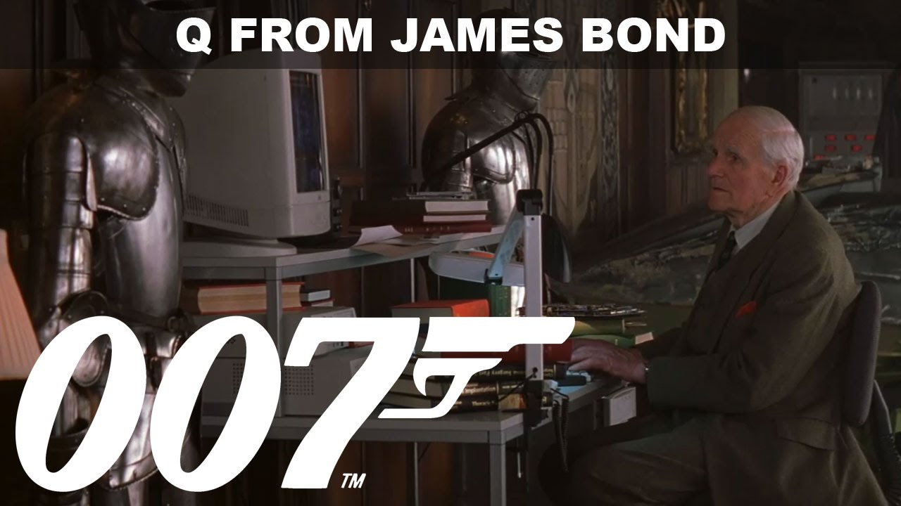 q the several characters of q in the james bond 007. Black Bedroom Furniture Sets. Home Design Ideas