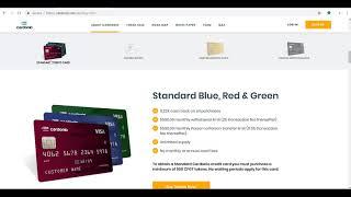Cardonio Crypto Credit Card!