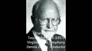 Frank Erickson Toccata for Band