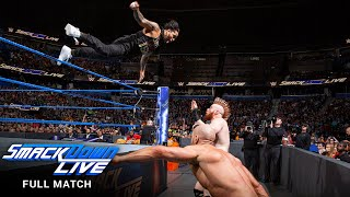 FULL MATCH - The Usos vs. The Bar: SmackDown LIVE, July 31, 2018