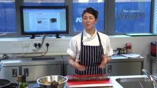 Sophie Wright Cooks Venison Steaks