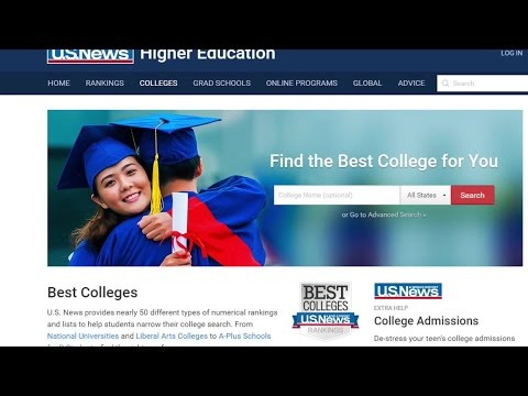 Several Indiana colleges on US News and World Report