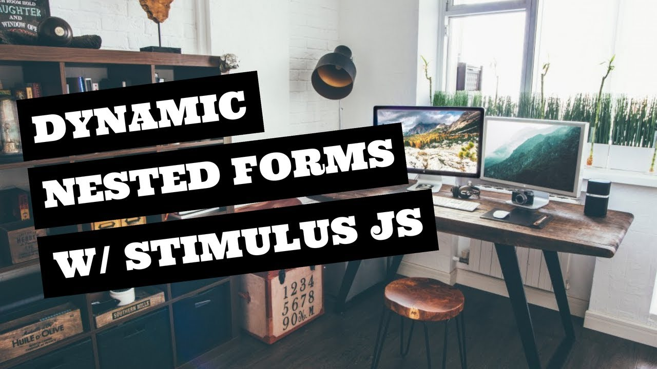Dynamic Nested Forms with Stimulus JS (Example) | GoRails