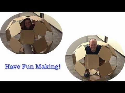 Think, Make, Innovate: Cardboard Challenge