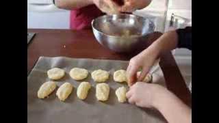 Hindistan Cevizli Kurabiye, kızımla beraber kolay ve nefis bir kurabiye yapıyoruz CANANS REZEPTE