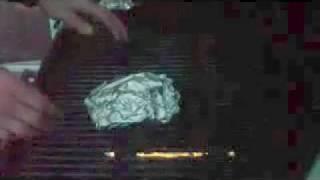 Squirrel Recipe - Tin Foil Wrapped Squirrel Bbq