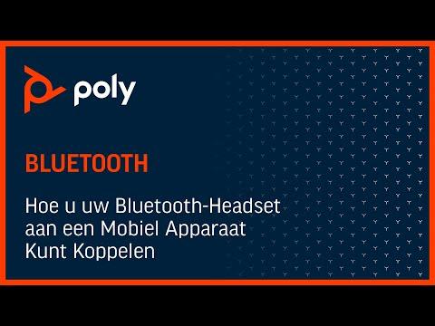 Hoe u uw Bluetooth-Headset aan een Mobiel Apparaat Kunt Koppelen