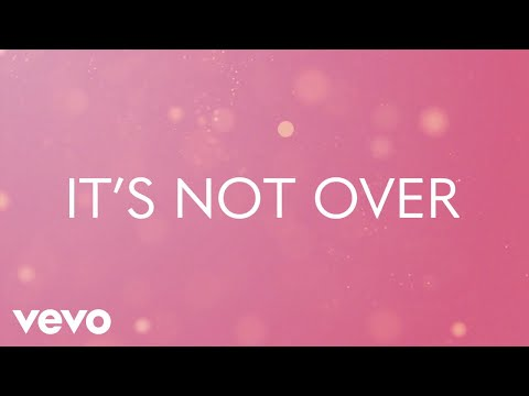 Mandisa - It's Not Over (Lyric Video) ft. Jasmine Murray, Rita Springer