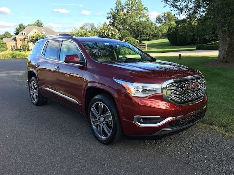 2017 Gmc Acadia Denali Redline Review