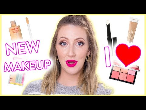 WOOHOO! Trying On New Makeup I Love!  Full Face Tutorial