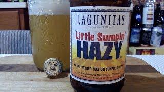 Lagunitas Little Sumpin' HAZY (7.2% ABV) DJs BrewTube Beer Review #1240