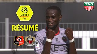 Stade Rennais FC - OGC Nice ( 1-2 ) - Résumé - (SRFC - OGCN) / 2019-20