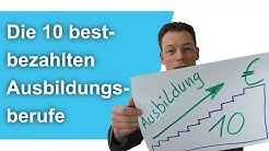 Ausbildungsberufe: Die 10 BESTBEZAHLTEN (bis 4.540 Euro!), Realschulabschluss + Hauptschulabschluss