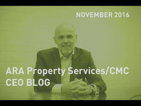 CEO Blog November 2016 update