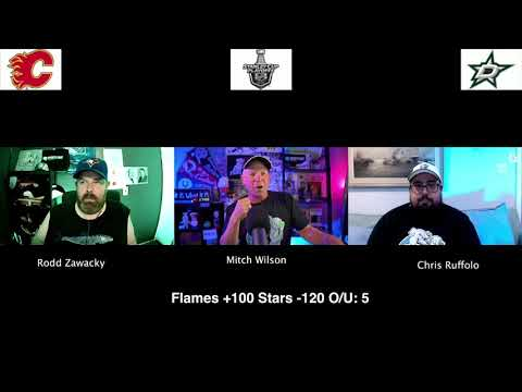 Dallas Stars vs Calgary Flames 8/16/20 NHL Pick and Prediction Stanley Cup Playoffs