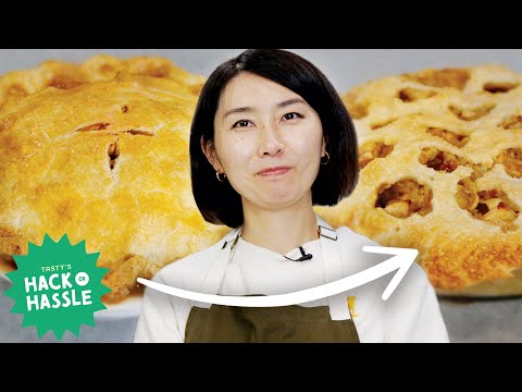 I Made a Pie Using 20 Hacks In A Row •Tasty