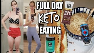 FULL DAY OF KETO EATING! WHAT I EAT FOR GAINS!