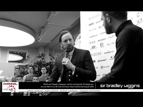 Events: Q & A with Sir Bradley WIggins at the Team Wiggins Launch