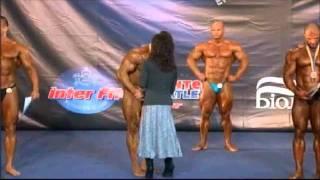 Чемпионат Украины 2011   Бодибилдинг до 100 кг   Награждение