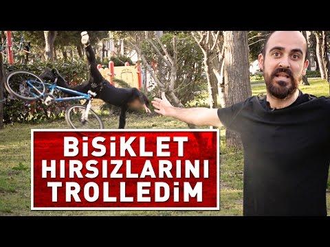 BİSİKLET HIRSIZLARINI TROLLEDİM !