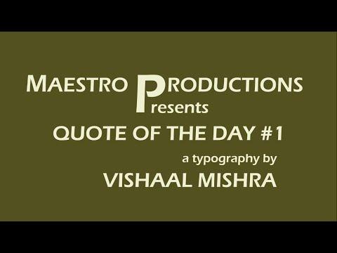 Hard Work Beats Talent - Vishaal Mishra ft Tim Notke