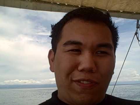 Post-diving site 1 in Bohol