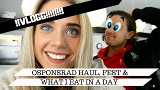VLOGG + FEST &  WHAT I EAT IN A DAY (: #moshe