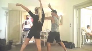 لقطات حصرية لنوال الزغبي أثناء التمرين على رقصة فيديو كليبها الجديد يا_جدع... قريباً